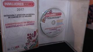 Promueve GCDMX detección oportuna del cáncer en mujeres indígenas