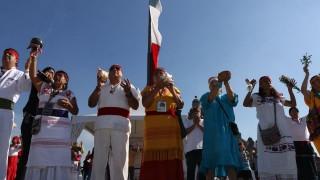 Por primera vez en el Zócalo Feria Consume Local Curación con Tradición