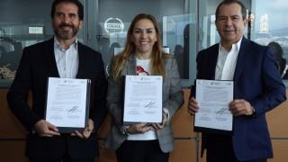 Firma SEDEREC y SENASICA acta para la instalación de la  Unidad de Inteligencia Sanitaria