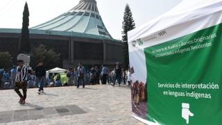 Intérpretes en lenguas indígenas brindarán  servicios a peregrinos guadalupanos