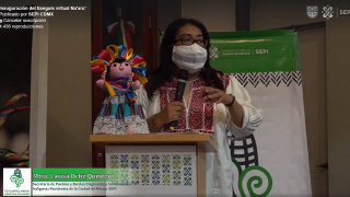 Venta virtual de artesanías indígenas es promovida por la SEPI